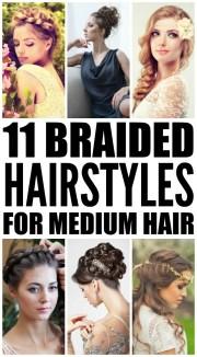 braided hairstyles medium-length