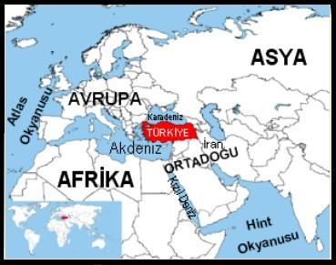 Turkiyenin Ozel Konumu