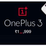 Flipkart announces a massive price drop for OnePlus 3, an Amazon Exclusive!