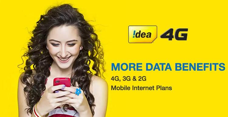 "Idea enters the ""Telecom Dangal""! Free 4G data plans announced."