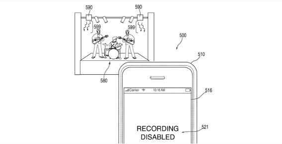 Apple restringiría la cámara del iPhone en conciertos y museos