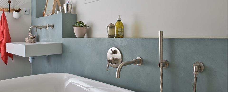 beton cire enduit deco pour la salle de bains mercadier