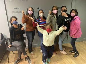 Iguatemi apoia capacitação e contrata grupo de mulheres refugiadas