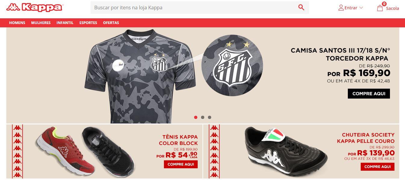 22271e53d66a Kappa lança loja virtual oficial no Brasil em parceria com a ...