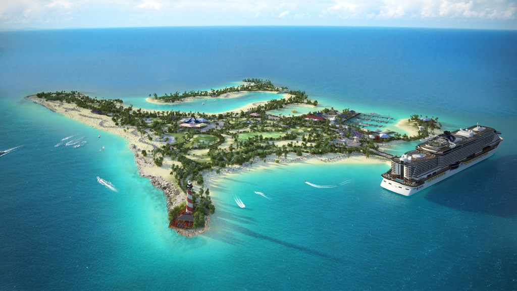Ilha das Bahamas da MSC