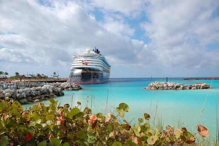 Disney Wonder em Castaway Cay