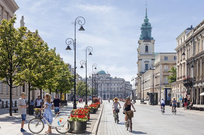 Krakowskie Przedmieÿcie_street