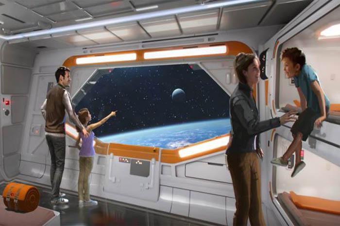 Quartos do novo Hotel inspirado em Star Wars será totalmente inspirado na saga