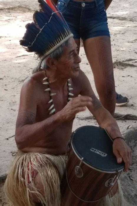 Índios da tribo Munduruku