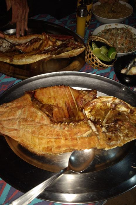 Pratos típicos da culinária paranaense e de aldeias indígenas da região