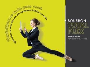 Bourbon lança campanha ?Total Flex? com reservas flexíveis e parceladas