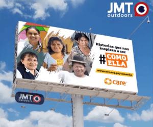 JMT Outdoors en alianza con CARE Perú