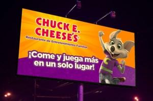 Chuck E. Cheese's lanza nueva campaña