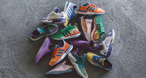 """Adidas revela colección completa de línea """"Dragon Ball Z"""