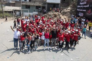JMT Outdoors llevó obsequios a comunidades de Villa María del Triunfo