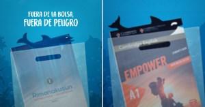 """""""Fuera de la bolsa, fuera de peligro"""": La campaña eco de Webtilia para Idiomas Católica"""