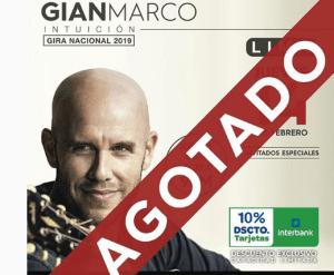 La estrategia detrás de la promoción en vía pública del concierto de Gian Marco