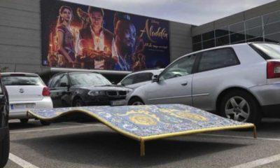 Aladdín estaciona su alfombra en un cine de Madrid