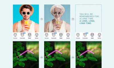 FaceApp: La aplicación que te envejece no puede degradar el plástico en esta campaña