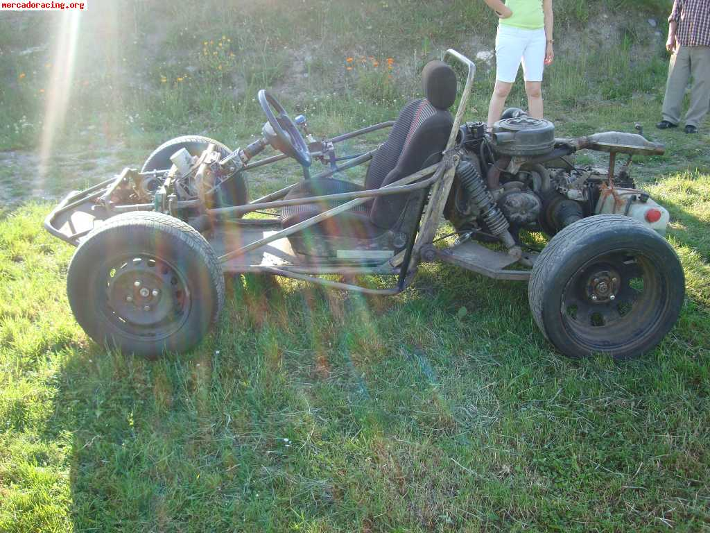 se vende buggy casero con motor de un 2cv muy divertido
