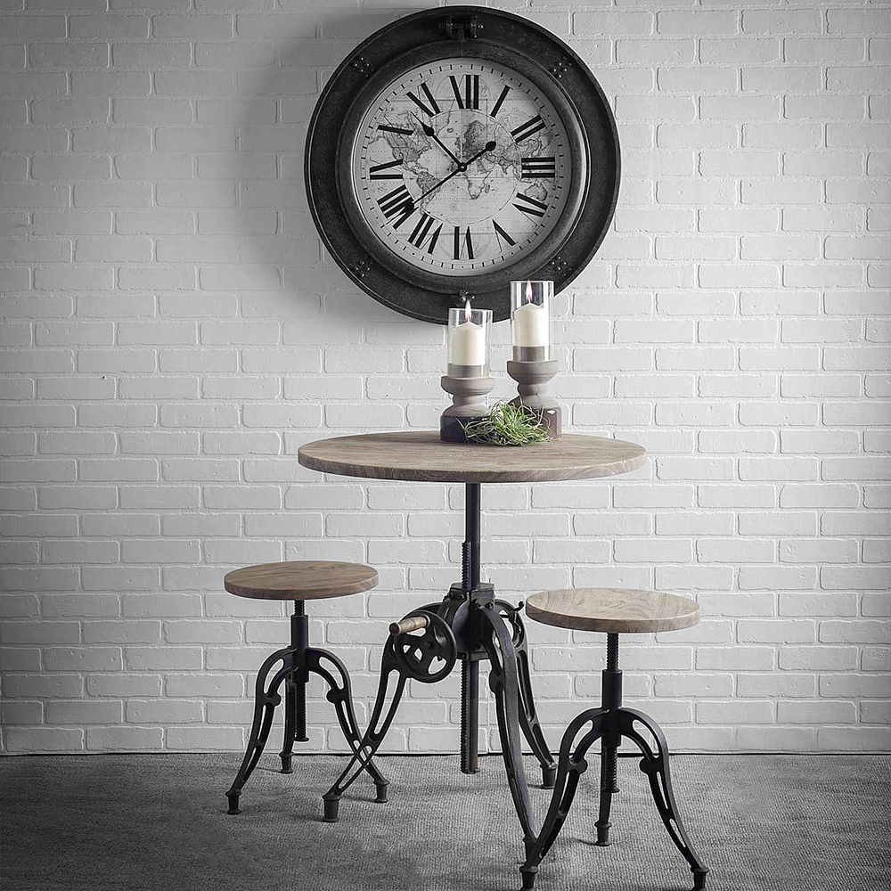 Emslie II Bistro Table and Stools.