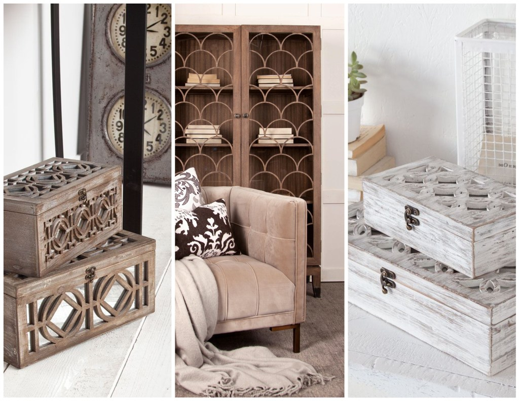 Jewelry Boxes and Shelves