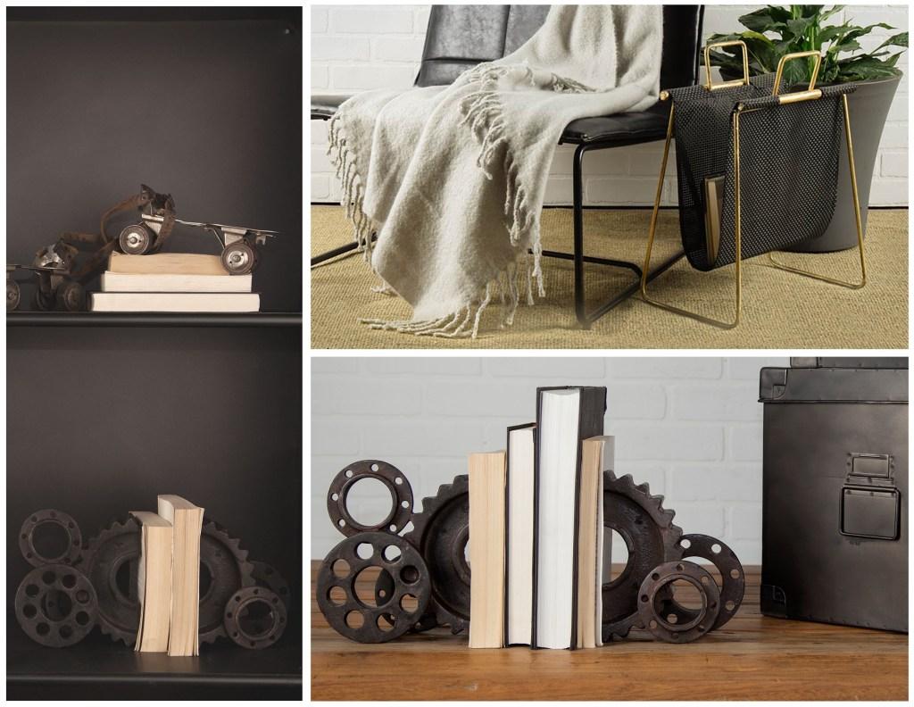 Book Ends and Magazine Racks
