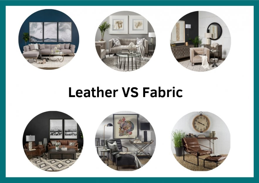 Fabric Vs Leather: The Right Sofa for You