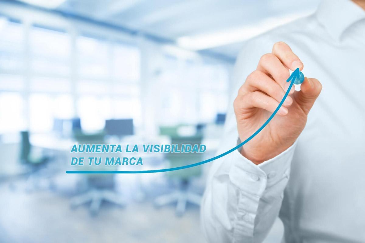 Aumenta la visibilidad de tu marca