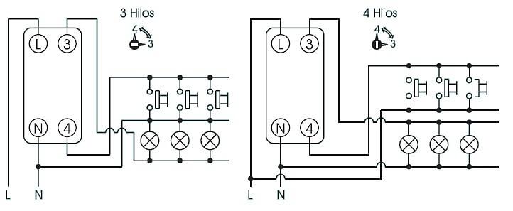 Resultado de imagen para esquema conexion reloj orbis t