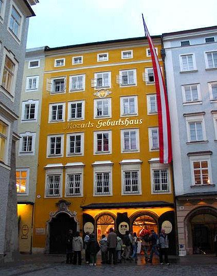 Salisburgo citt natale di Mozart  Mercatini di Natale a