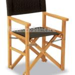 Sedia Regista in legno di Frassino