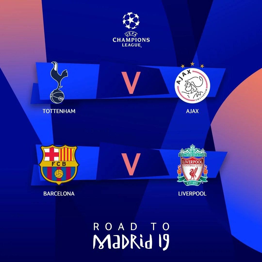 Calendrier Ligues Des Champions.Ligue Des Champions Le Calendrier Est Connu Pour Tottenham