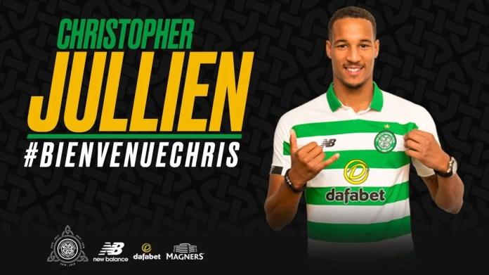 Christopher Jullien arrive au Celtic Glasgow