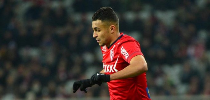 Sofiane BOUFAL - 24.01.2015 - Lille / Monaco - 22eme journee de Ligue1 Photo : Dave Winter / Icon Sport