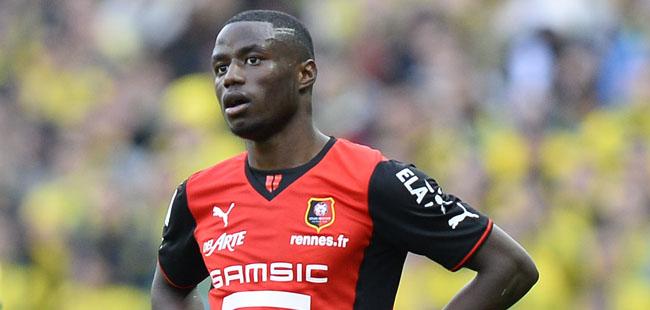 Paul Georges NTEP - 23.02.2014 - Nantes / Rennes - 26eme journee de Ligue 1 Photo : Fred Porcu / Icon Sport