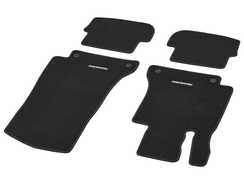 jeu de tapis mercedes classe c cabriolet noir velours classic