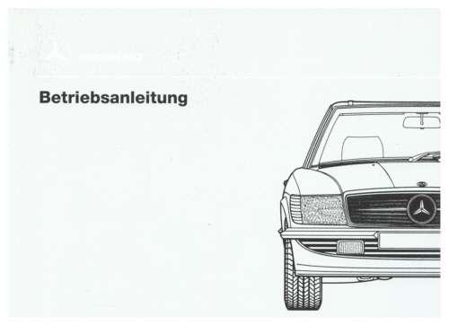 Bedienungsanleitung Mercedes R 350