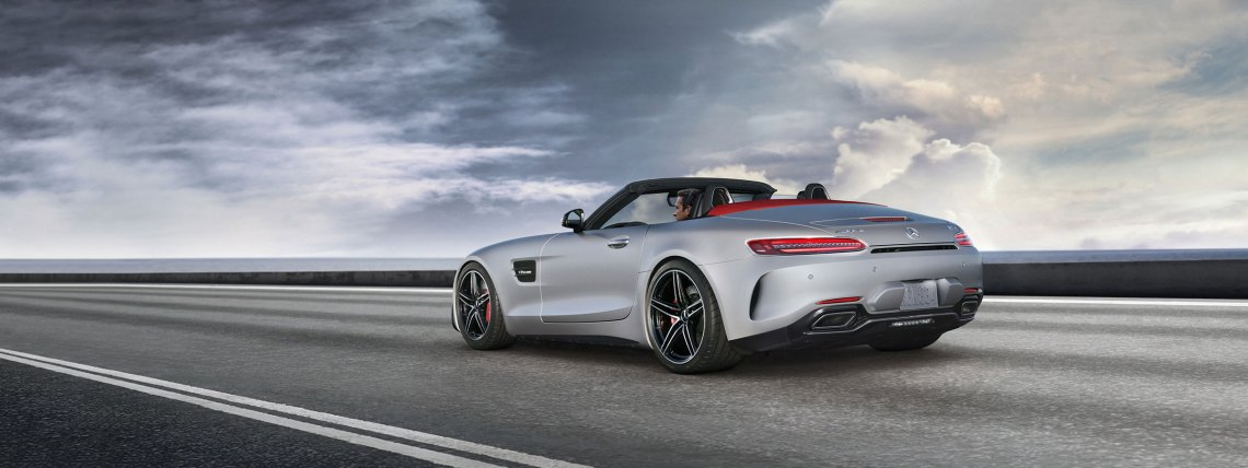 2018 mercedes-amg performance gt roadster sports car | mercedes-benz