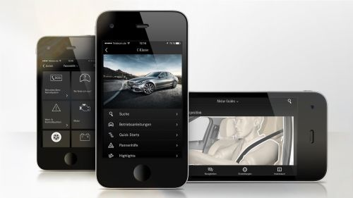 small resolution of mercedes benz guides app