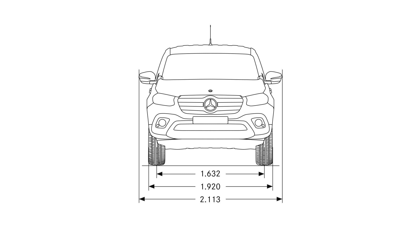 Mercedes-Benz X-Klasse: Technische Daten
