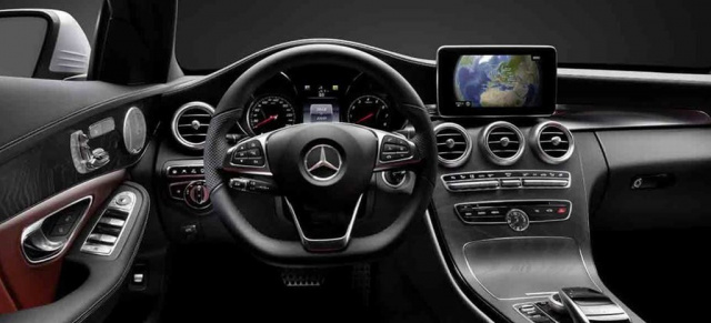 Maybe you would like to learn more about one of these? Innere Werte: Erste Fotos vom Innenraum der neuen Mercedes ...