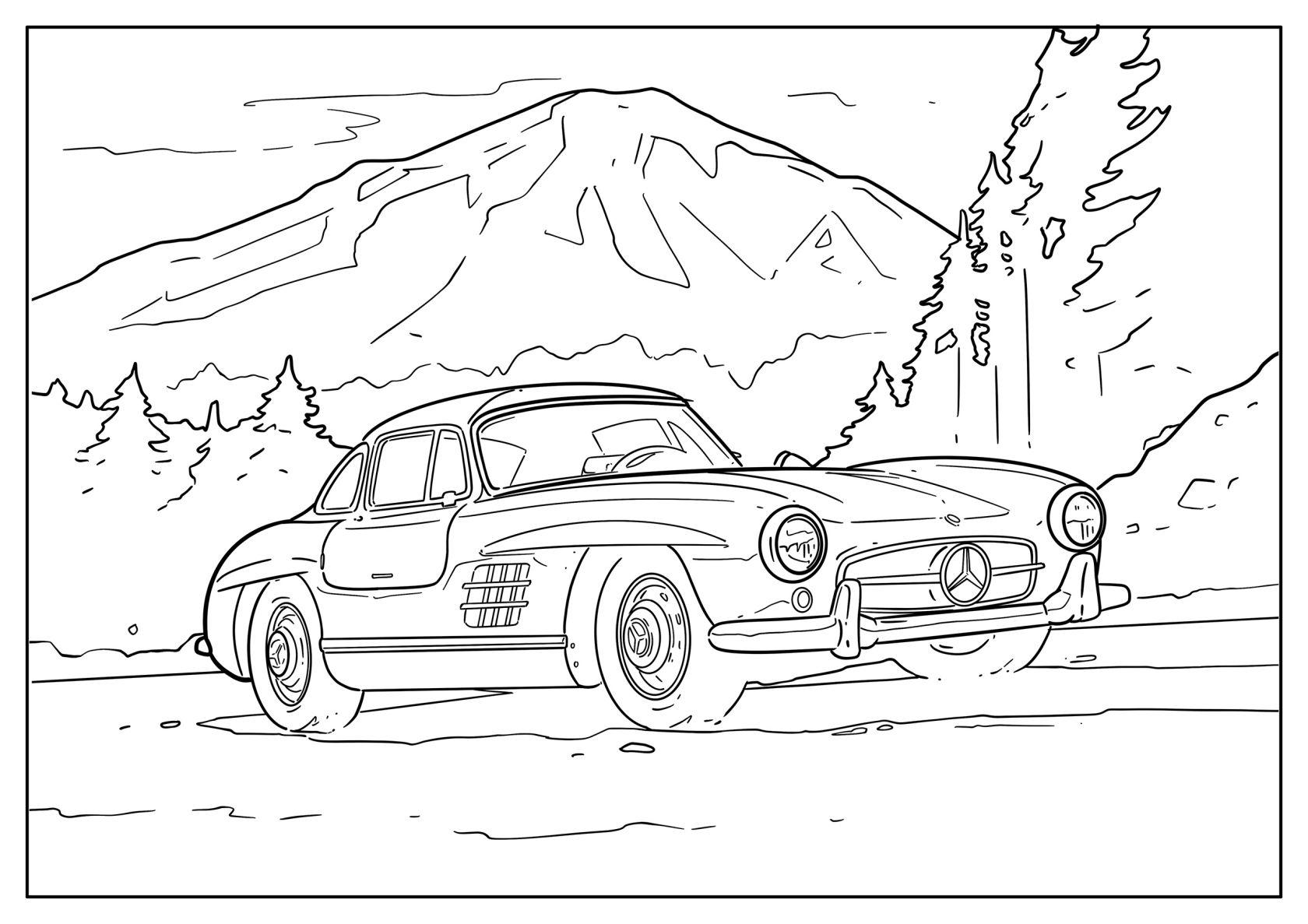 » Gegen die Langeweile Mercedes Benz Malvorlagen für Kids ...