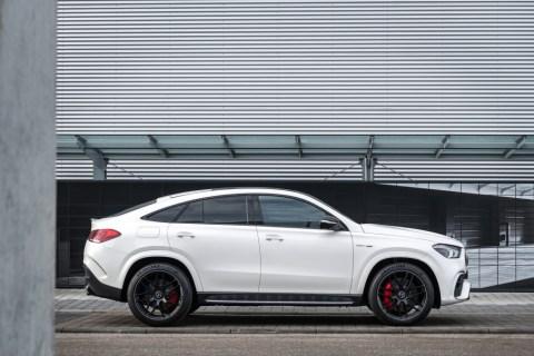 Top-Modelle mit elektrifiziertem V8-Motor ab jetzt bestellbar: Verkaufsstart für neue Mercedes-AMG Performance-SUV Foto: AMG GLE 63 S 4MATIC+ Coupé