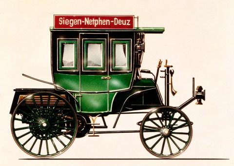 Vor 125 Jahren: Erster Omnibus mit Verbrennungsmotor von Benz & Cie