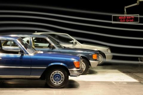 Mercedes-Benz S-Klasse: Fahrzeuge der Baureihen 116 (1972 bis 1980), 126 (1979 bis 1991) und 140 (1991 bis 1998)