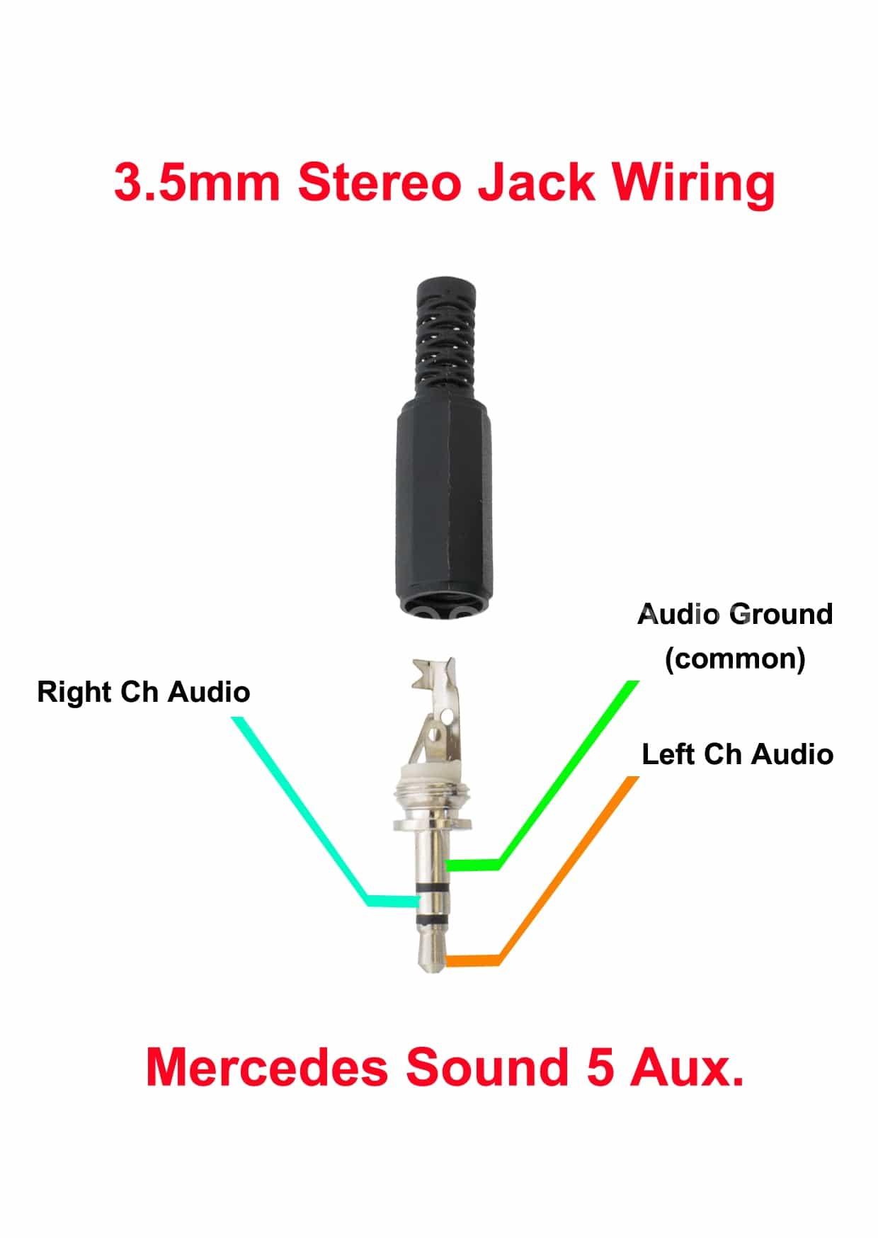 audio connector wiring diagram 2011 vw jetta tdi fuse 3 5jack mercedes gen in