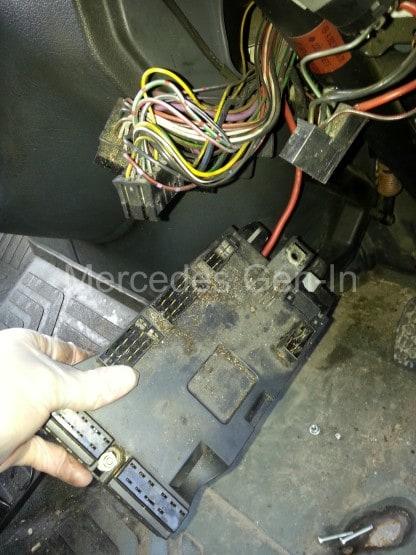Mercedes Wiring Loom Problems