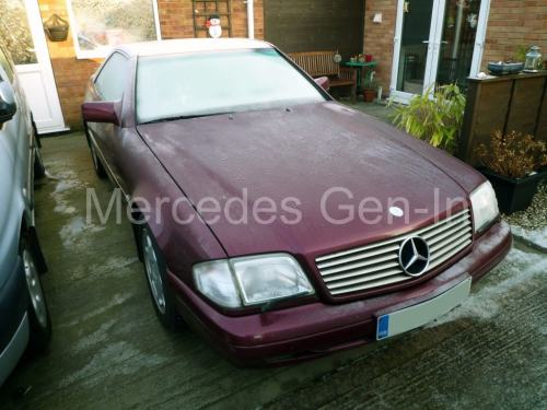 small resolution of mercedes r129 sl320 1996