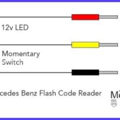 Mercedes W124 Abs Wiring Diagram 30 Amp Rv Plug Older Series Diagnostic Fault Code Reading R129 Simple Flash Reader